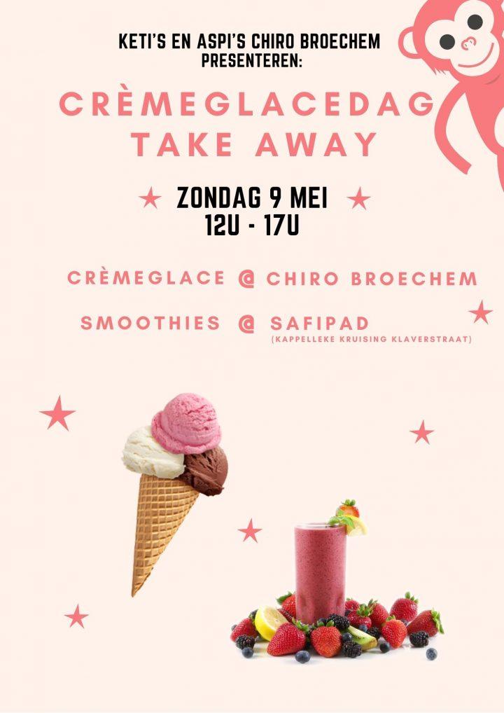 Crèmeglacedag 9 mei