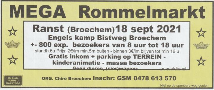 MEGA Rommelmarkt